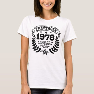 Vintage 1978 40th Birthday T-Shirt