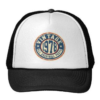 Vintage 1978 All Original Parts Trucker Hat