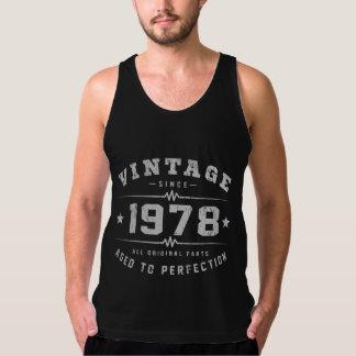 Vintage 1978 Birthday Tank Top