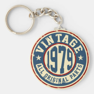 Vintage 1979 All Original Parts Keychain