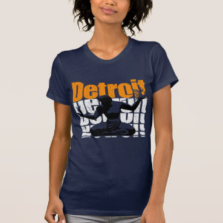 Vintage 1980s DETROIT (Distressed Design) T-Shirt