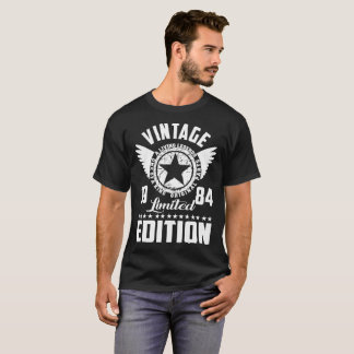 vintage 1984 limited edition original parts T-Shirt