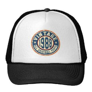 Vintage 1988 All Original Parts Trucker Hat