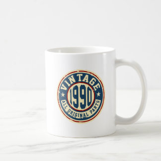 Vintage 1990 All Original Parts Coffee Mug