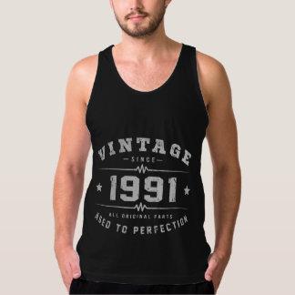Vintage 1991 Birthday Tank Top