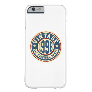 Vintage 1998 All Original Parts Barely There iPhone 6 Case