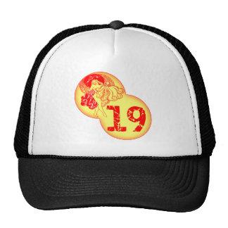 Vintage 19th Birthday Gifts Trucker Hat