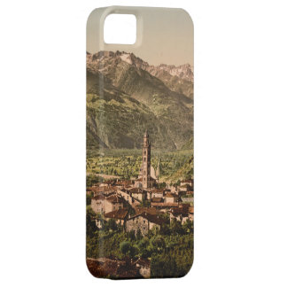 Vintage 19th century Tirano, Lombardy, Italy iPhone 5 Case