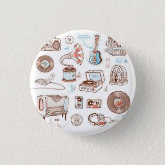 Vintage 1 Inch Round Button