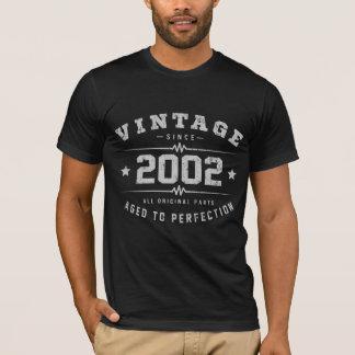 Vintage 2002 Birthday T-Shirt