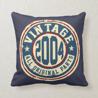 Vintage 2004 All Original Parts Throw Pillow
