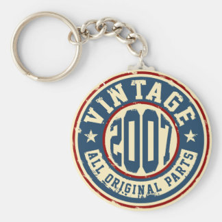 Vintage 2007 All Original Parts Keychain