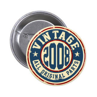 Vintage 2008 All Original Parts 2 Inch Round Button