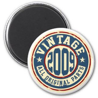 Vintage 2009 All Original Parts 2 Inch Round Magnet