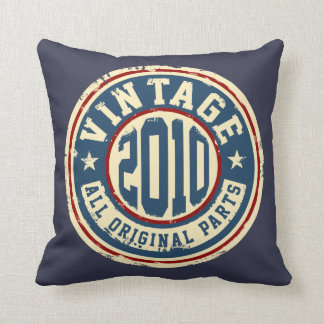 Vintage 2010 All Original Parts Throw Pillow