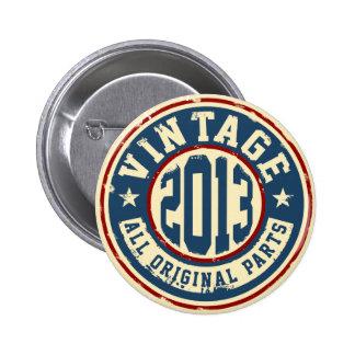Vintage 2013 All Original Parts 2 Inch Round Button