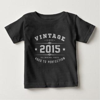 Vintage 2015 Birthday Baby T-Shirt