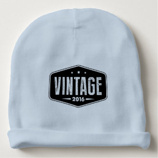 """Vintage 2016"" Baby Beanie"