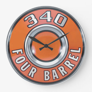 Vintage 340 4 barrel  Design Clock