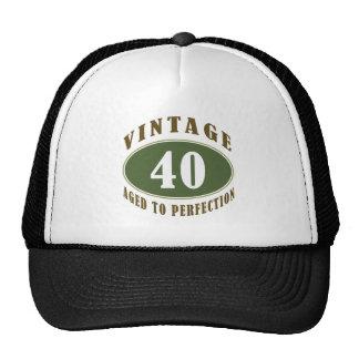 Vintage 40th Birthday Gifts For Men Trucker Hat