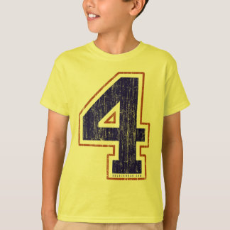 Vintage #4 (for all apparel) T-Shirt