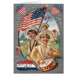 Vintage 4th of July Card