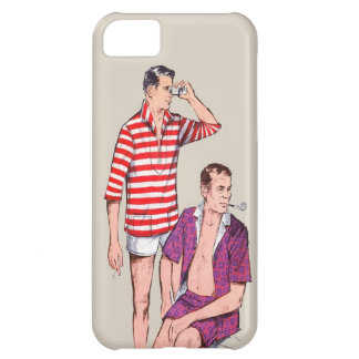 Vintage 50s Couple of Manly Men iPhone 5C Cover