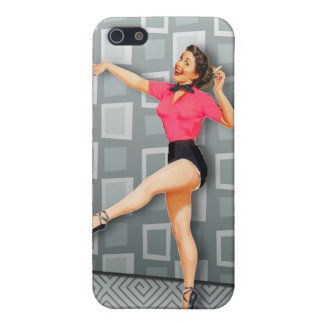 Vintage 50s Dancing Pinup Girl iPhone 5 Covers