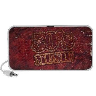 Vintage 50's Music -  Doodle Speakers