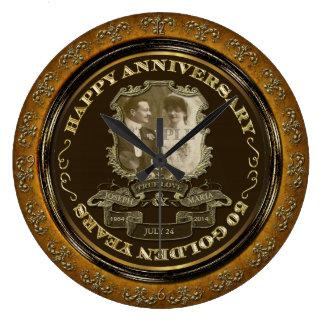 Vintage 50th Anniversary ID195 Clocks