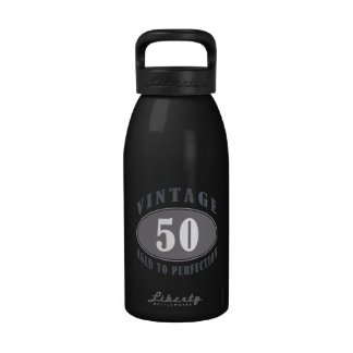 Vintage 50th Birthday Gifts For Men Water Bottle