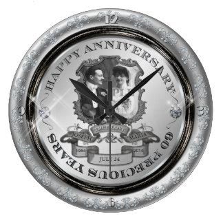 Vintage 60th Anniversary ID195 Clocks