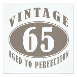 Vintage 65th Birthday Gifts