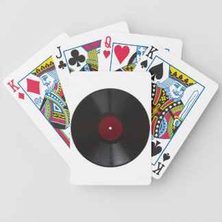 Vintage 78 rpm record transparent PNG Bicycle Playing Cards