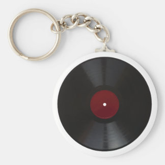Vintage 78 rpm record transparent PNG Keychain