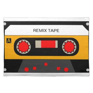 Vintage 80's Cassette Placemat