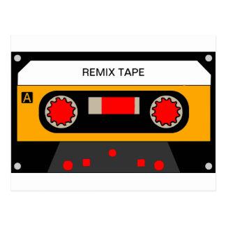 Vintage 80's Cassette Postcard