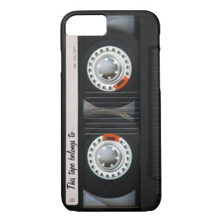 Vintage 80s Retro Music Cassette Tape Customizable Case-Mate iPhone Case