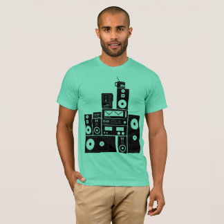 """Vintage 80s Stereo Gear """"Auto Reverse"""" RealFancy T-Shirt"""