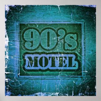 Vintage 90 s Motel 2 - Poster