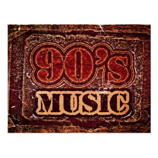 Vintage 90 s Music - Postcards