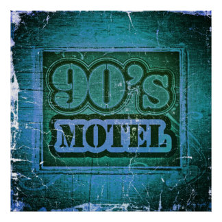 Vintage 90's Motel #2 - Poster