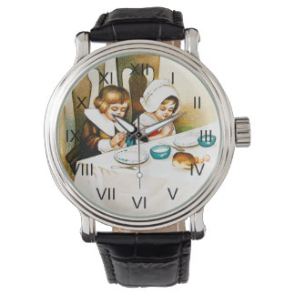 Vintage A Blessed Thanksgiving Watch