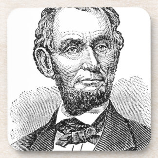 Vintage Abe Lincoln Bust Coaster