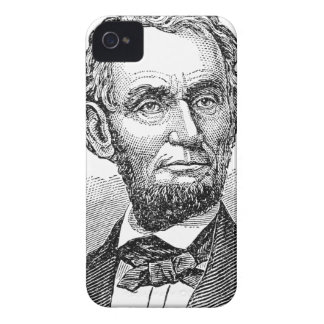 Vintage Abe Lincoln Bust iPhone 4 Case-Mate Case