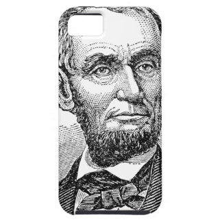 Vintage Abe Lincoln Bust iPhone 5 Cases