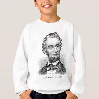 Vintage Abe Lincoln Bust Sweatshirt