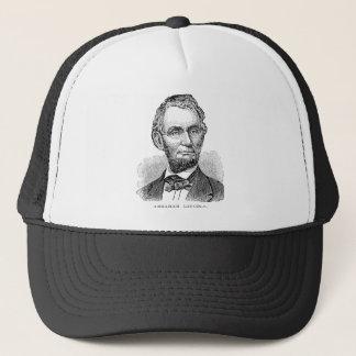 Vintage Abe Lincoln Bust Trucker Hat