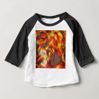 Vintage Abstract Multi-Layer Baby T-Shirt
