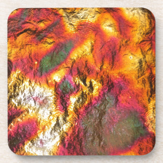 Vintage Abstract Multi-Layer Drink Coaster